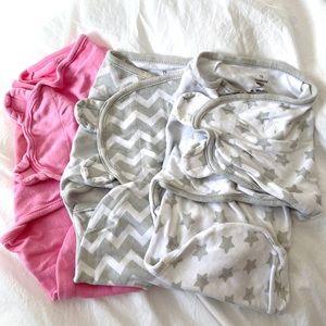 SwaddleMe sleep sack swaddles- bundle of 3